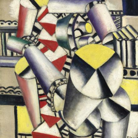 Fernand Léger, Les Cylindres Colorés (1918), Via Christie's
