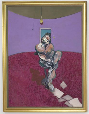 Francis Bacon, Portrait of George Dyer Talking (1966), via Christie's