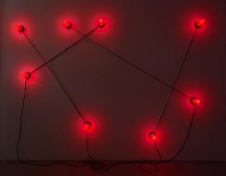 G.T. Pelizzi, Constellation in Red (Figure 1) (2013)