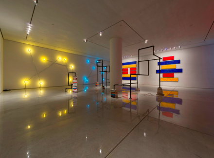 GT Pelizzi, Financial Times (Installation View), via Mary Boone