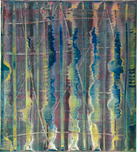 Gerhard Richter, Abstraktes Bild 776-1 (1992), via Phillips