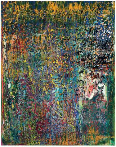 Gerhard Richter, Abstratkes Bild (1989), via Christie's