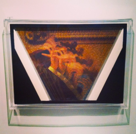 Giacomo Balla, The Hand of the Violinist (1912), via Art Observed