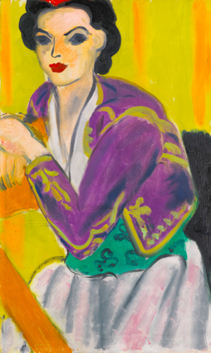 Henri Matisse, Boléro Violet (1937), Via Sotheby's