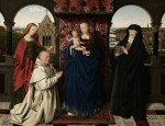 Jan van Eyck and workshop, Virgin and Child, via Art Daily