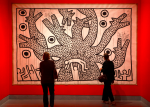 Keith Haring, Untitled (1982), via New York Times