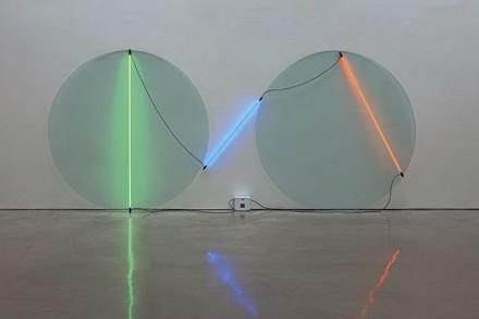 Keith Sonnier, Ba-O-Ba (1970), via Pace