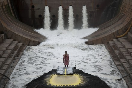 Matthew Barney, River of Fundament (still) (2014), Courtesy BAM credit Hugo Glendinning
