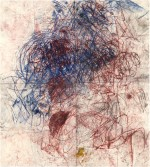 Oscar Murillo's Untitled (Drawings off the wall), 2011, via Bloomberg