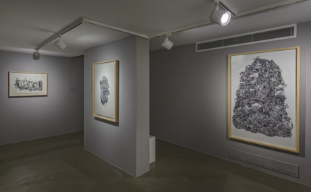 Çağla Köseoğulları, Out of Place (Installation View), via Osman Can Yerebakan for Art Observed