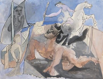 Pablo Picasso, Composition (composition Au Minotaure) (1936), Via Sotheby's