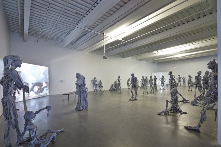 Pawel Althamer, The Neighbors (Installation View), Courtesy New Museum Photo: Benoit-Pailley