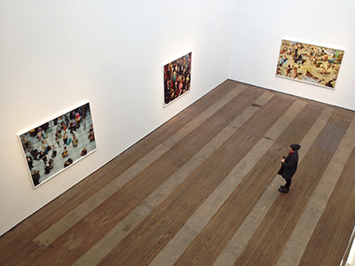 Alex Prager, Face in the Crowd (Chrystie Street Gallery Installation View) via D. Penny