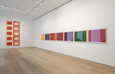 Prints Flavin, Judd, Sandback, (Installation View)