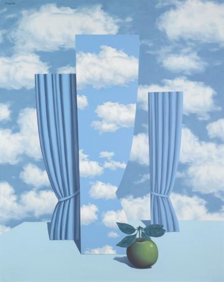 René Magritte, Le Beau Monde (1962), Via Sotheby's