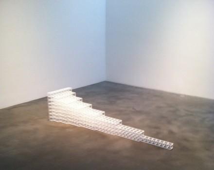 Sol Lewitt, Horizontal Progression #6 (1991), via Daniel Creahan for Art Observed