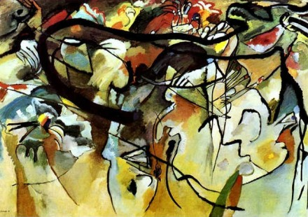 Vasily Kandinsky, Composition V (1911), Neue Gallery