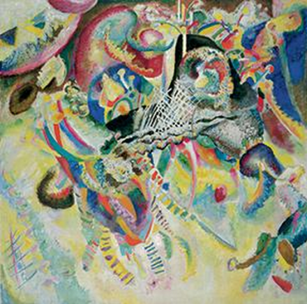 Vasily Kandinsky, Fugue (1914), Neue Gallery