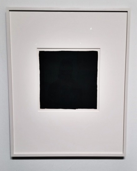 Ad Reinhardt, Number 1-6, via Art Observed