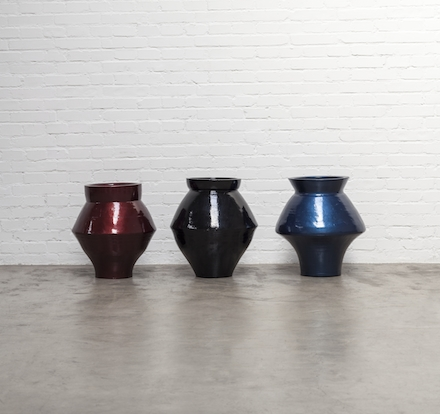 Ai Weiwei, Han Dynasty Vases with Auto Paint (2014)