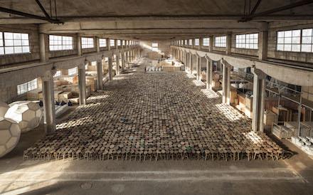 Ai Weiwei, Stools (2014)