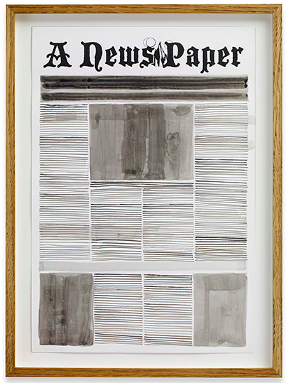 Alexandre Singh, Front Page (2013), via Spruth Magers