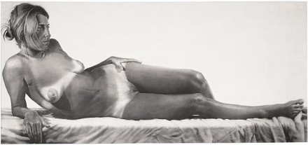 Chuck Close, Big Nude (1967)