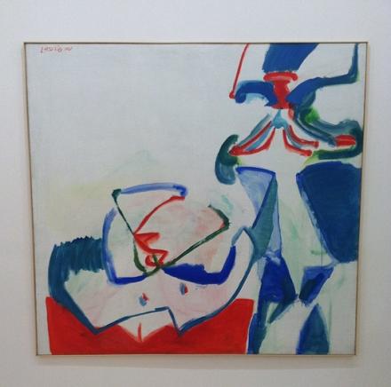 Maria Lassnig, Napoleon und Brigitte Bardot (1961), via Art Observed