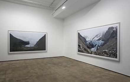 Frank Thiel, Nowhere is a Place (Installation View), via Sean Kelly