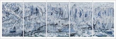 Frank Thiel, Perito Moreno #01 (2012/13), via Sean Kelly Gallery