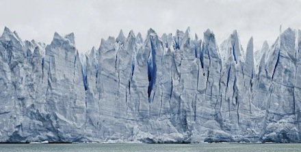 Frank Thiel, Perito Moreno #161 (2012/13), via Sean Kelly Gallery