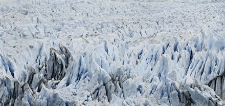 Frank Thiel, Perito Moreno #91, (2012/13), via Sean Kelly Gallery