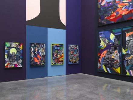 Franz Ackermann, 9X9X9 (Installation View), via White Cube