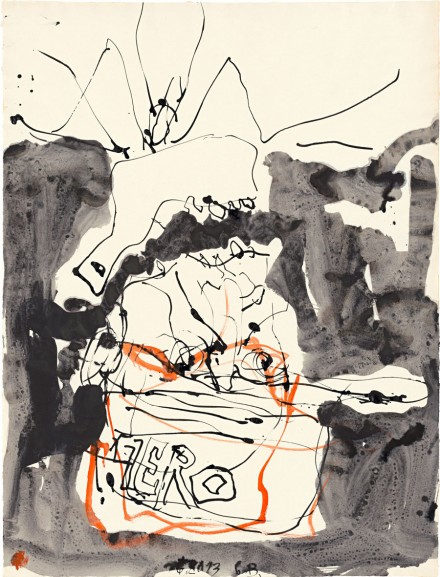 Georg Baselitz, Untitled (2013)