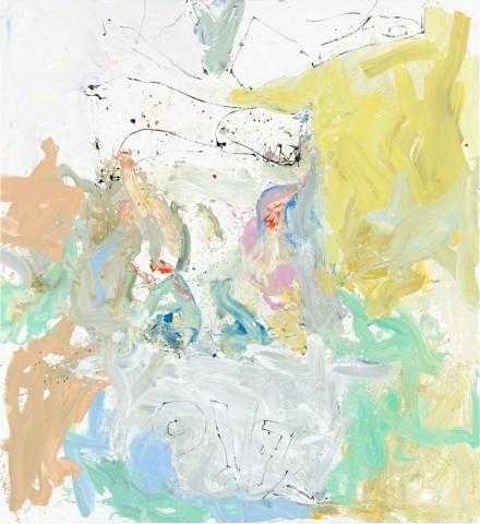 Georg Baselitz, mehr ich tut ach mer willn (Barle flel will) (2013)