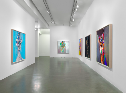George Condo, Headspace (Installation View), via Simon Lee