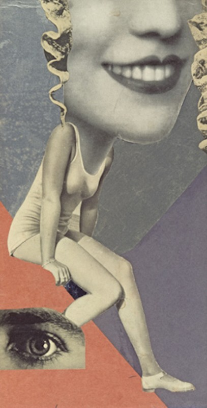 Hannah Höch, Für ein Fest gemacht (Made for a Party), (1936)