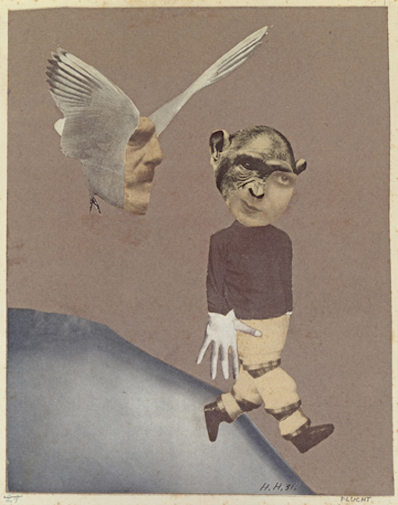 Hannah Höch, Flucht (Flight), (1931)