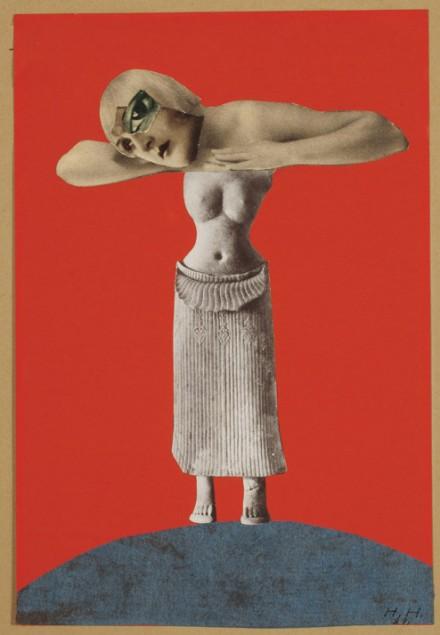 Hannah Höch, Ohne Titel (Aus einem enthographischen Museum) (Untitled [From an Ethnographic Museum]) (1930)