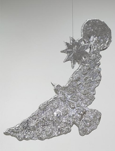 Kiki Smith, Crescent Bird (2011), all images courtesy Pace Gallery