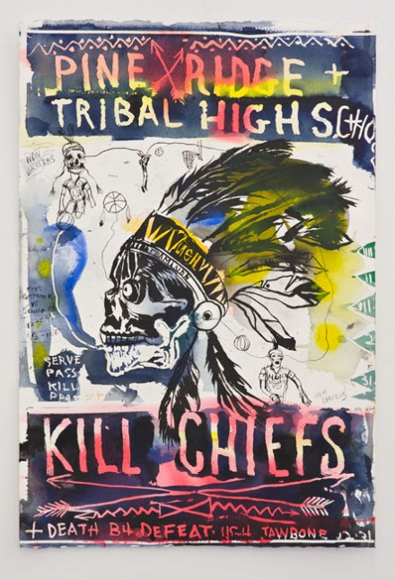 Brad Kahlhamer, Kill Chiefs, (2010)