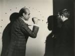 Lucio Fontana and Le Jour, 1962, via ArtNews