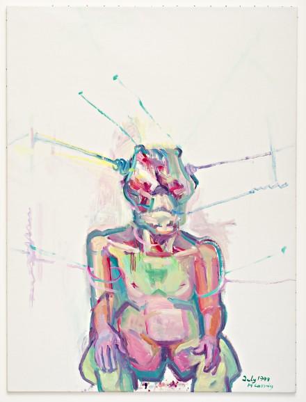 Maria Lassnig, Sciencia (1998), Courtesy MoMA PS1