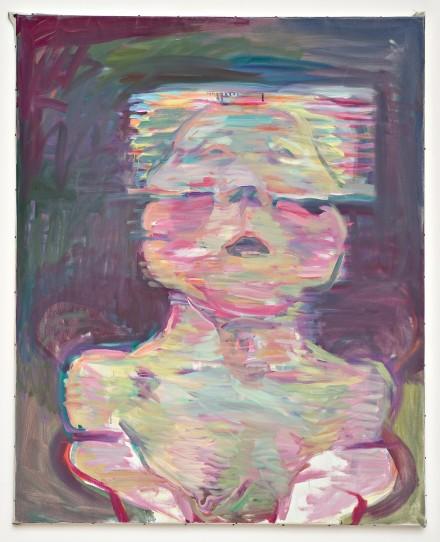 Maria Lassnig Transparentes Selbstporträt (Transparent Self-Portrait) (1987), courtesy MoMA