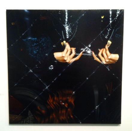 Mat Collishaw at Blain Southern, via Art Observed