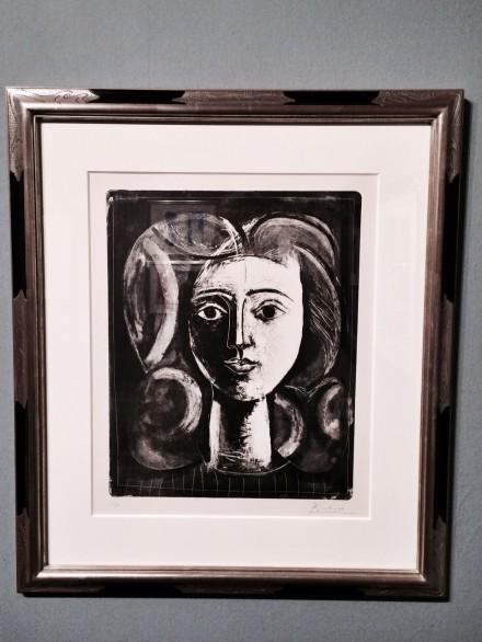 Pablo Picasso, Tête de Jeune Fille, via Art Observed