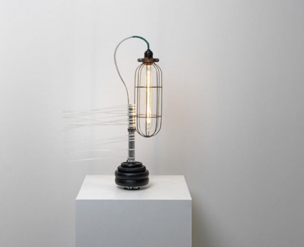 Ryan Gander, A Lamp Made By The Artist For His Wife (fifth Attempt), (2013), via The Armory Show
