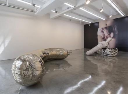 Sarah Lucas, NUD NOB (Installation View), via Gladstone Gallery