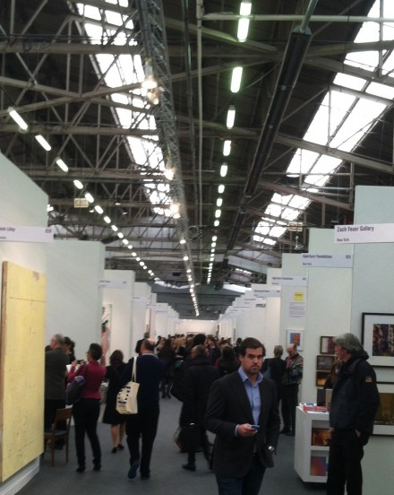 The Armory Show (Installation View), via Art Observed
