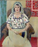 """Seated Woman/Woman Sitting in Armchair,"" by Henri Matisse, via NYT"